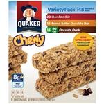 Quaker Chewy Granola Bars, Variety Pack - 48 ct.