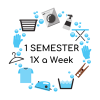 Semester-Long Laundry Service - Pick-up Once a Week
