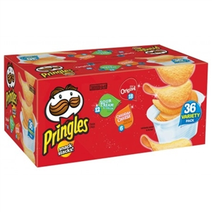 Pringle's Snack Stacks Variety Pack - 36 ct.