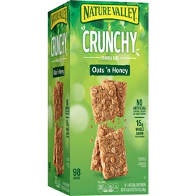 Nature Valley Oats 'n Honey Crunchy Granola Bar (49 ct.)