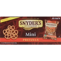 Snyder's Mini Pretzels (1.5 oz, 48 ct.)