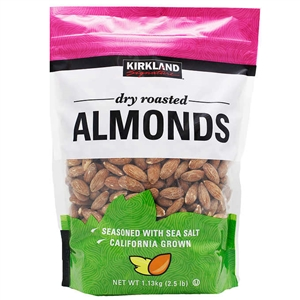 Dry Roasted Almonds (2.5 lbs.)