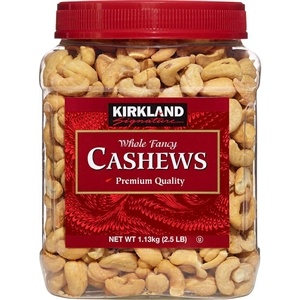 Whole Cashews (2.5 lbs.)