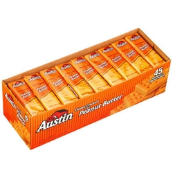 Austin Cheese Crackers w/ Peanut Butter - 45 ct.